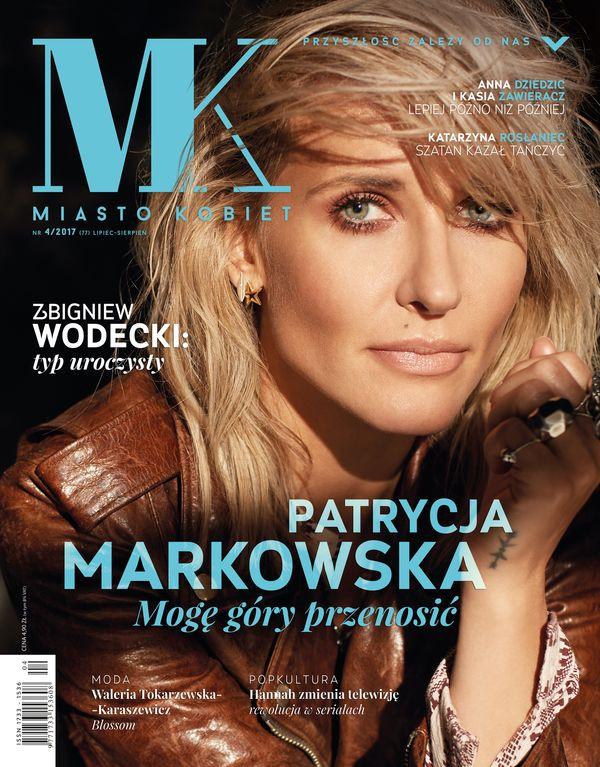 """Patrycja Markowska na okładce lipcowo-wrześniowego numeru """"Miasta Kobiet"""""""