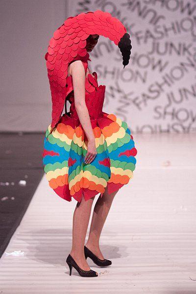 Junk Fashion Show, fot. Piotr Kierat