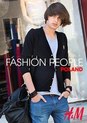 Fashion People na Rynku Glownym w Krakowie