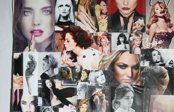 vodianova collage