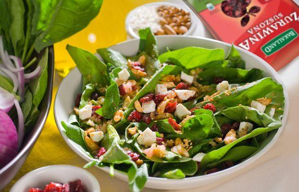 przepis na salatke zurawina bakalland