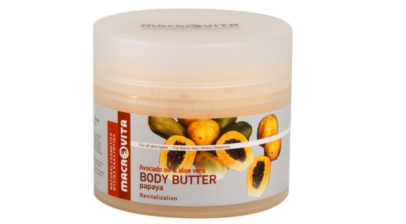 Body butter papaya new