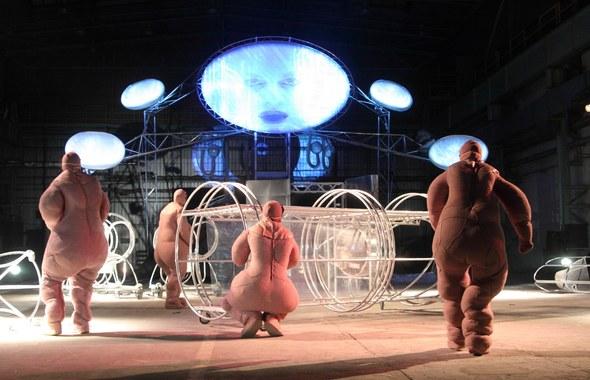 """Teatr Biuro Podróży - """"Planeta Lem"""", fot. Andrzej Czoper Czop, Jakub Wittchen"""
