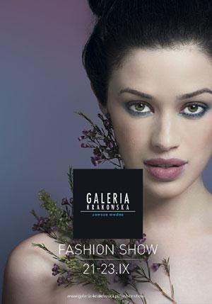 Fashion Show w Galerii Krakowskiej - plakat imprezy