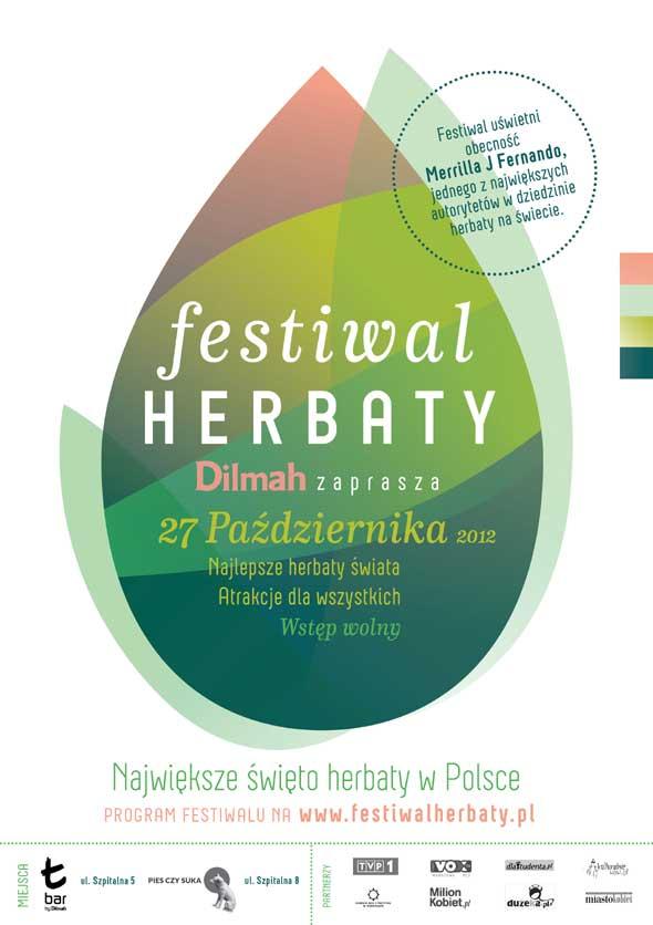 plakat Festiwalu Herbaty