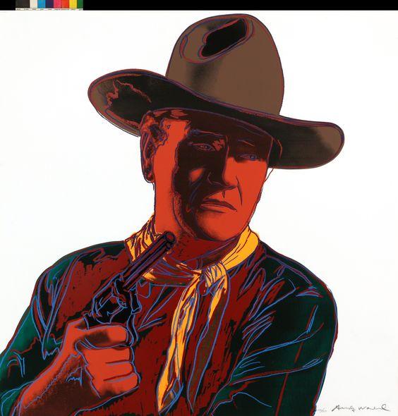 Kowboje i Indianie John Wayne 1986
