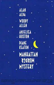 """Plakat z filmu """"Tajemnica morderstwa na Manhattanie"""""""