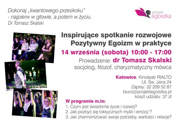 Zaproszenie Przełącz się na EkoBycie - Katowice