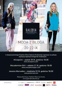 Fashion Show w Galerii Krakowskiej