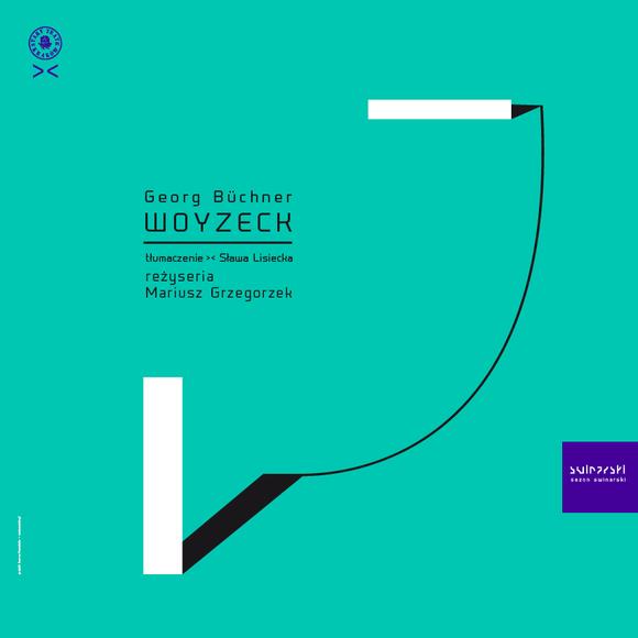 """""""Woyzeck"""" w Narodowym Stary Teatr / plakat projekt J.Howańska"""