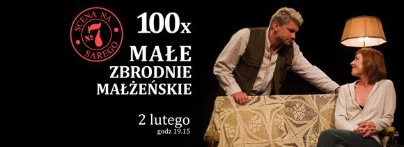 """""""Małe zbrodnie małżeńskie"""" w Teatrze Bagatela / fot. materiał prasowy"""