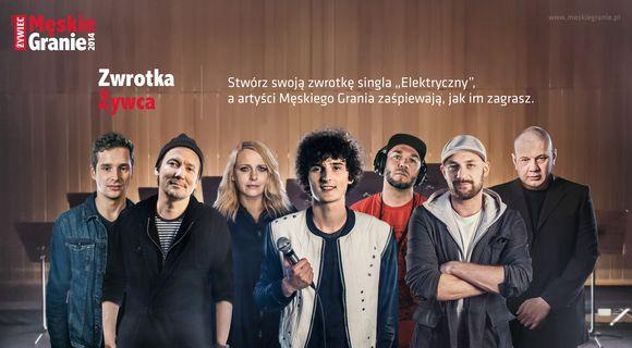 """A Ty jaki masz pomysł na nową wersję singla """"Elektryczny""""? / fot. materiał prasowy"""