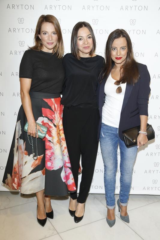 Od lewej: Anna Dereszowska, Patrycja Cierocka, Anna Mucha. / fot. Podlewski/AKPA