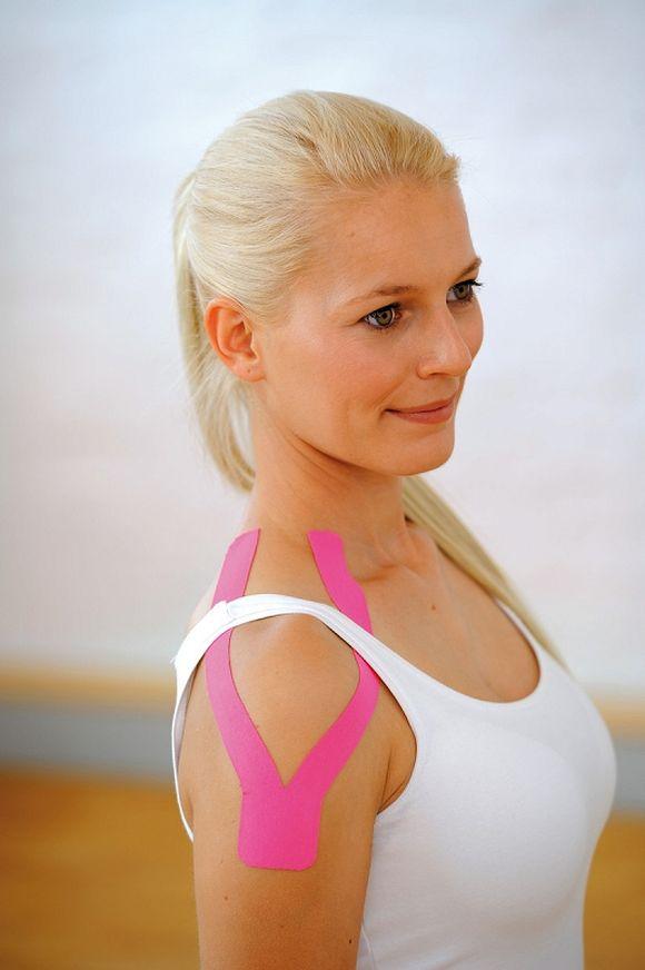 Kinesiology Tape ® jest wodoodporna i wysoce oddychająca oraz została testowana laboratoryjnie. / fot. materiał prasowy