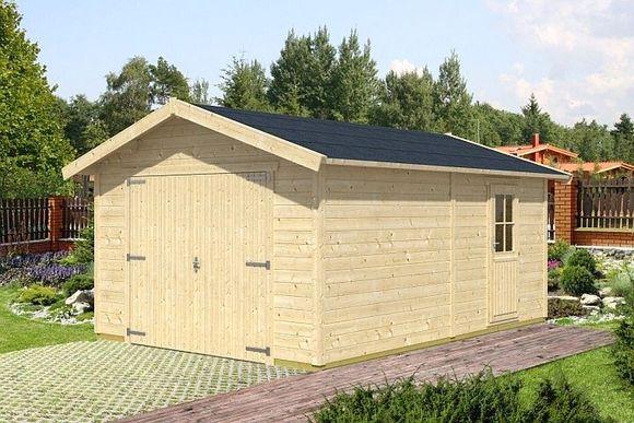 Garaż drewniany Versus / fot. materiał prasowy