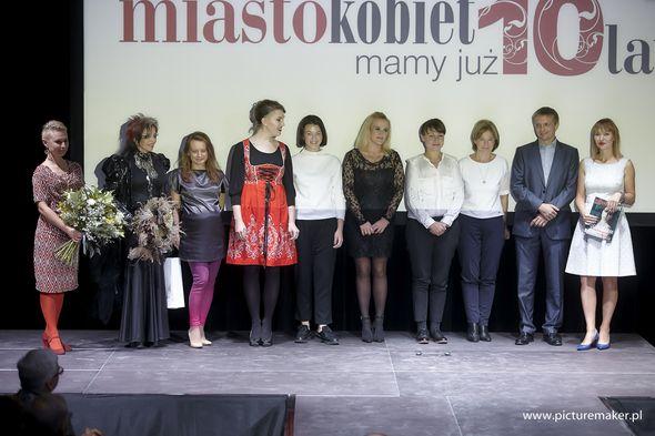 Laureaci plebiscytu Honorowe Obywatelstwa Miasta Kobiet / Rafła Woźniak/ Picturemaker.pl