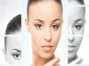 Portrait of a woman (plastic surgery, medicine concept)