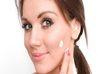 cream on beauty face
