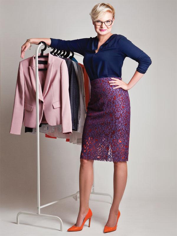 Często trafiają do mnie klientki, które są na jakimś zakręcie. W zakupach ze mną nie chodzi tylko o ubrania. | fot. Joanna Czaczkowska