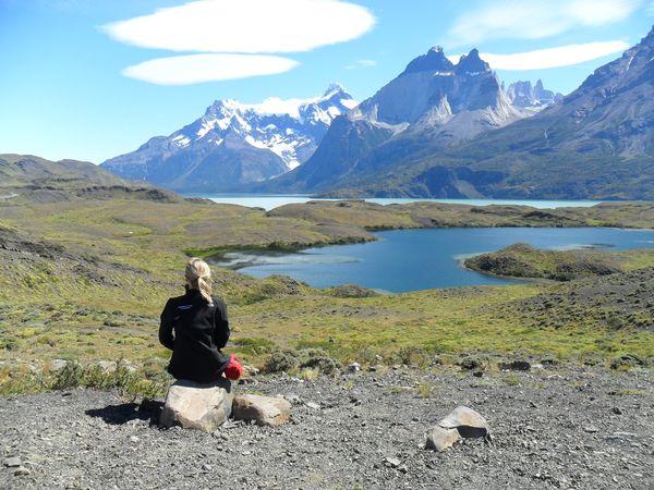 Barbara Radwańska w parku Torres del Paine w Chile / fot. archiwum prywatne