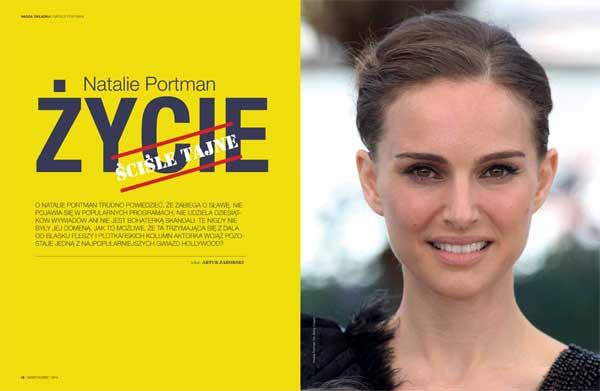 """Urodzona wJerozolimie, spędziła wIzraelu jedynie trzy lata. Wyjechała do Waszyngtonu jako Natalie Hershlag. Nazwisko Portman przyjęła dopiero, kiedy dostała rolę uLuca Bessona w""""Leonie Zawodowcu"""""""