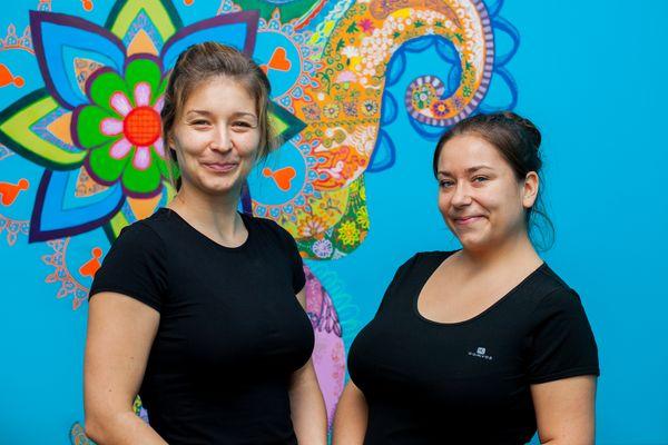 Siostry Martyna i Paulina z Salonu Maha Punye Ayurveda / fot. Katarzyna Sztybel