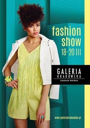 Fashion Show w Galerii Krakowskiej / fot. materiały prasowe