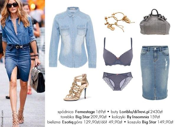 moda olivia palermo stylizacje must have jeans carmen casual dodatki