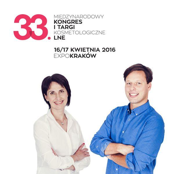 33. Międzynarodowy Kongres i Targi Kosmetologiczne LNE odbędą się już 16-17 kwietnia 2016 w ExpoKraków / fot. materiały prasowe