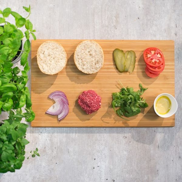 Burger z grilla / fot. Naturhouse