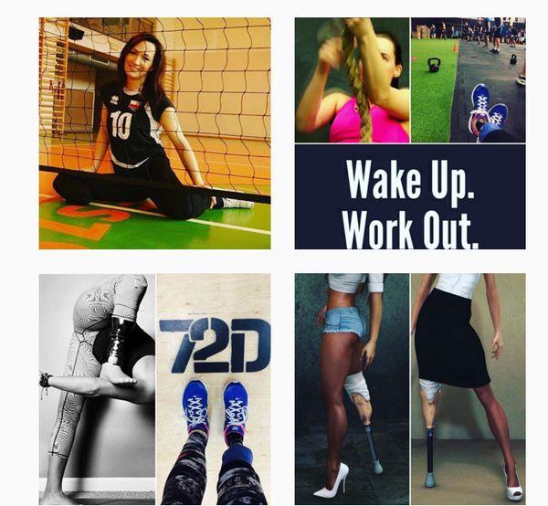Danka bez skrępowania pokazuje swe niedoskonałe ciało, aby zmotywować innych / fot. Instagram/danutabujok