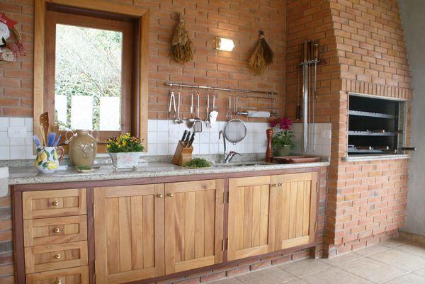 6 pomysłów na rustykalną kuchnię z cegłą  Miasto Kobiet -> Kuchnia Rustykalna Wp