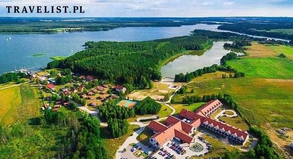 Mikołajki SPA Mazury podróż poślubna urlop Polska