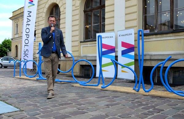 kiermash małopolska moda niezależna marszałek kraków stojak na rowery wydarzenia