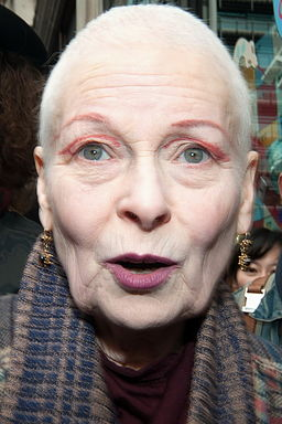 Vivienne Westwood mimo wieku nie traci wigoru / fot. See Li