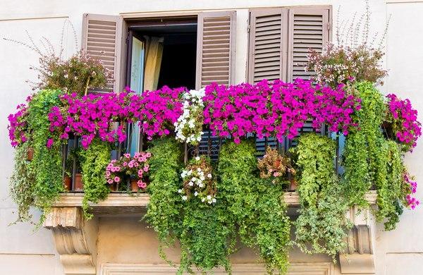 balkon taras dom aranżacja wnętrz ogrody