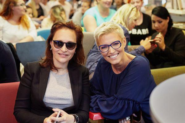 Tatiana Kostyra i Ilona Felicjańska / fot. Barbara Bogacka