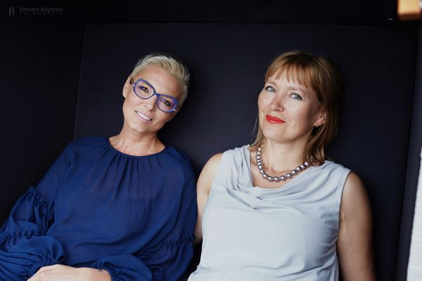 Ilona Felicjańska i Aneta Pondo / fot. Barbara Bogacka