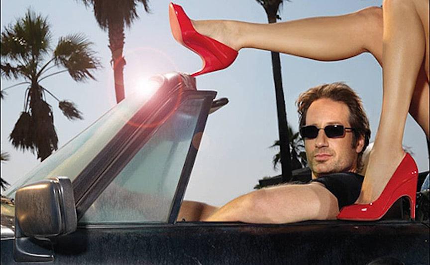 plakat z serialu californication jako ilustracja do felietonu o seksie przemocy i alkoholu
