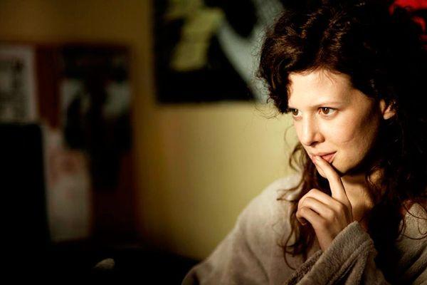 """Karolina Gruszka / kadr z filmu """"Żywie Biełaruś"""" (2012, reż. Krzysztof Łukaszewicz)"""