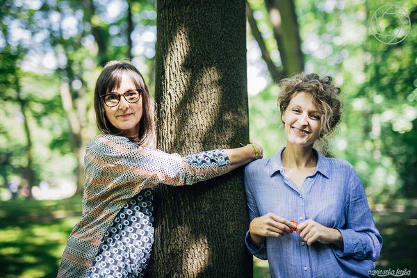 Kasia Pilitowska i Karolina  Bisping Adamik / fot. Agnieszka Fiejka