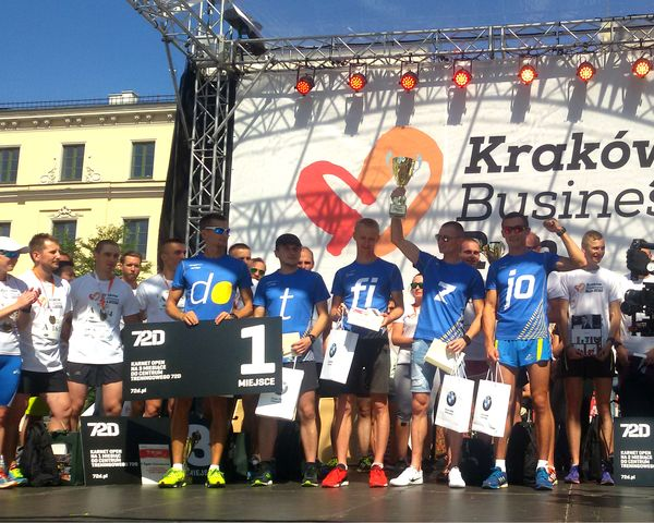 Zwycięzcy 5. Kraków Business Run / fot. materiały prasowe