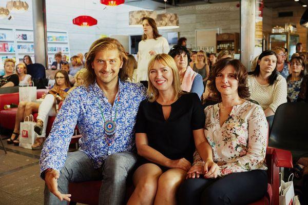 Od lewej: Michał Godlewski, Aneta Pondo, Małgorzata Abassy / fot. Barbara Bogacka
