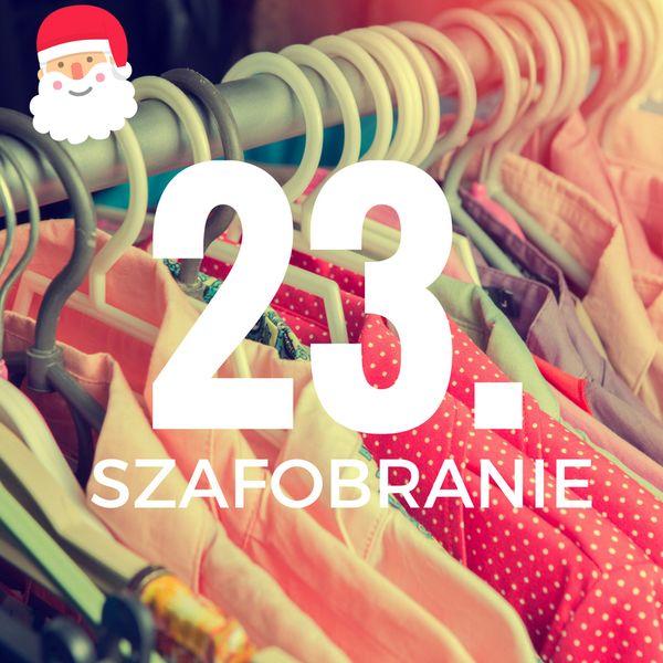23. Szafobranie, 12.12.16, Metaforma Cafe, godz. 18.00