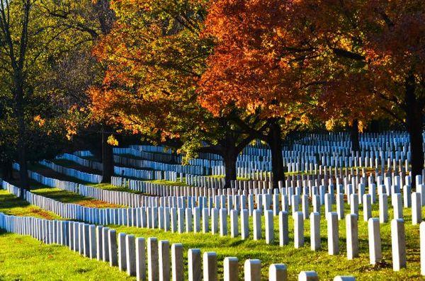 Cmentarz będący pomnikiem narodowym USA / fot. materiały prasowe