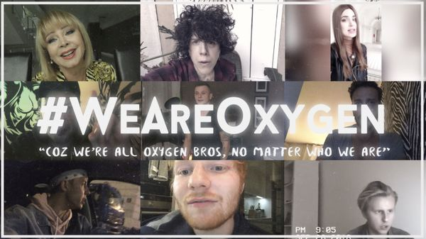: Ed Sheeran, LP, Izabela Trojanowska i inni śpiewają przebój zespołu BEMY Oxygen / fot. materiały prasowe