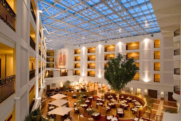 Jedna z sal Hotelu Sheraton Grand / fot. materiały prasowe