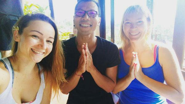 Ubud na Bali jest mekką joginów (fot. Madzia Lubowiecka)