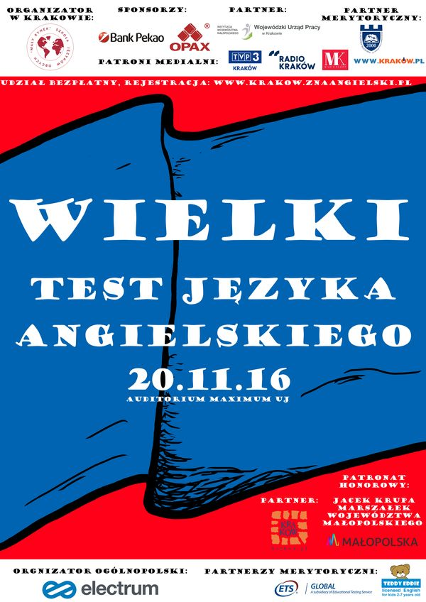 Wielki Test Języka Angielskiego już 20.11.206. Odważysz się? / fot. materiały prasowe