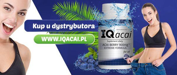 IQacai to aktualnie najczęściej kupowany suplement zawierający wyciąg z jagód acai / fot. materiały prasowe